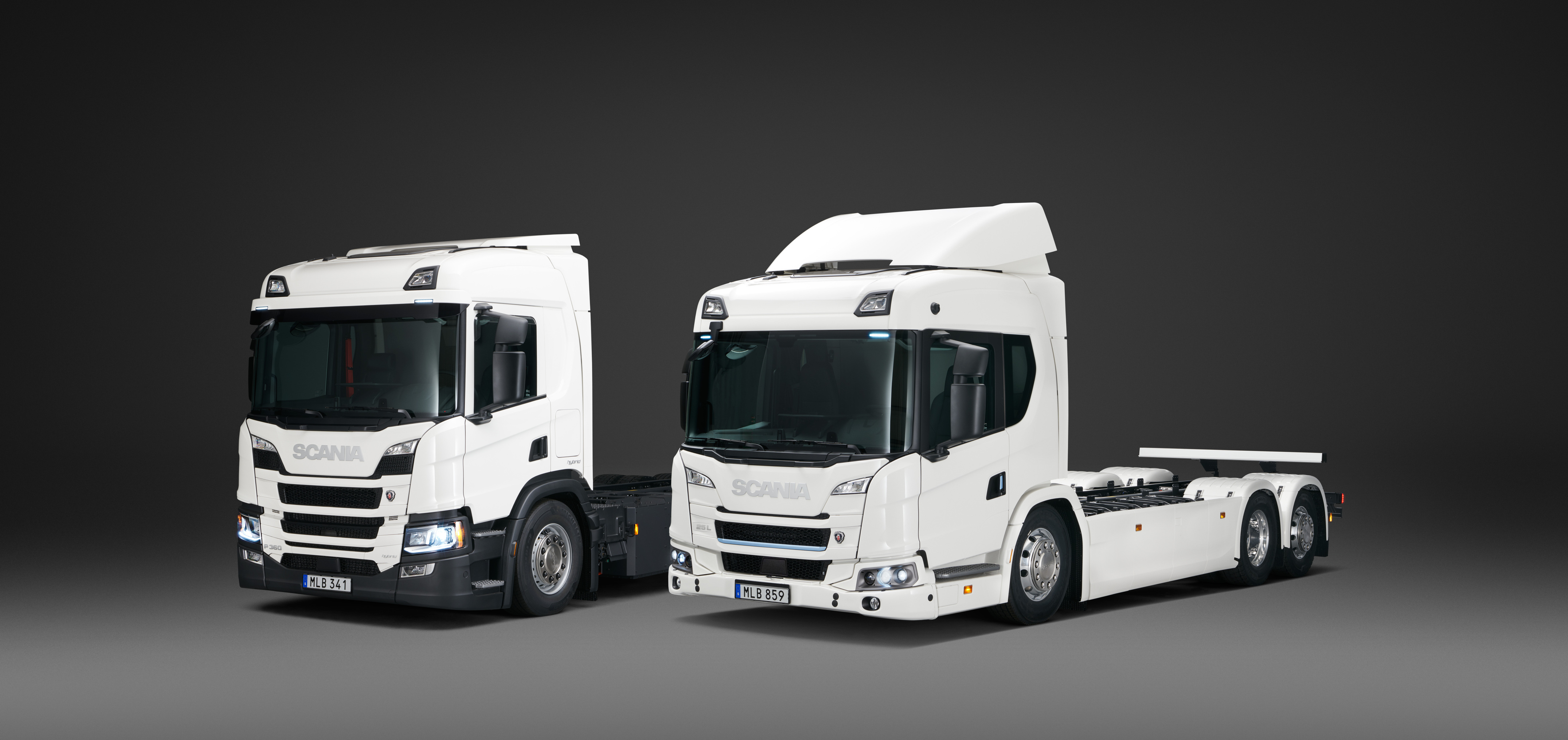 Scania lanza su linea Hybrida